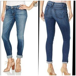 HUDSON // Tally Crop Skinny Jeans Size 27